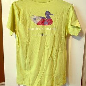 Mens Southern Marsh T-shirt NWT
